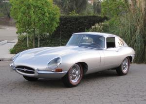 Jaguar E-Type 4.2 Fixed Head Coupe (Series I) 1966 года
