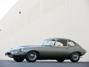 Jaguar E-Type Fixed Head Coupe 2+2 (Series I) 1967 года
