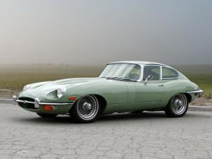 Jaguar E-Type Fixed Head Coupe (Series II) 1968 года (US)