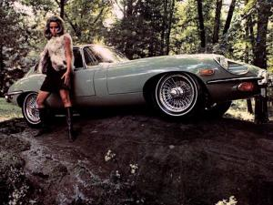 Jaguar E-Type Fixed Head Coupe (Series III) 1971 года