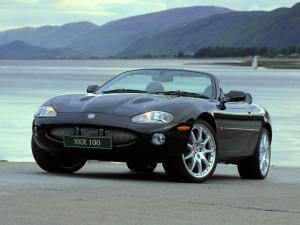2002 Jaguar XKR 100 Convertible