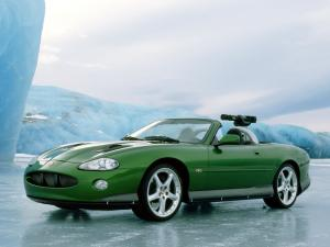 2002 Jaguar XKR Convertible 007 Die Another Day