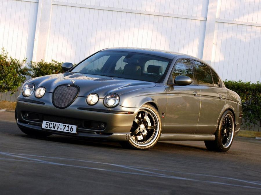 Jaguar S-Type R by SVC '2003