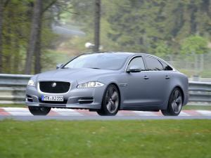 Jaguar XJ SuperSport Nurburgring Taxi 2012 года