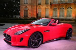 2013 Jaguar F-Type and Lana Del Rey