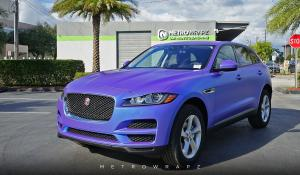 Jaguar F-Pace Electric Wave by MetroWrapz 2016 года