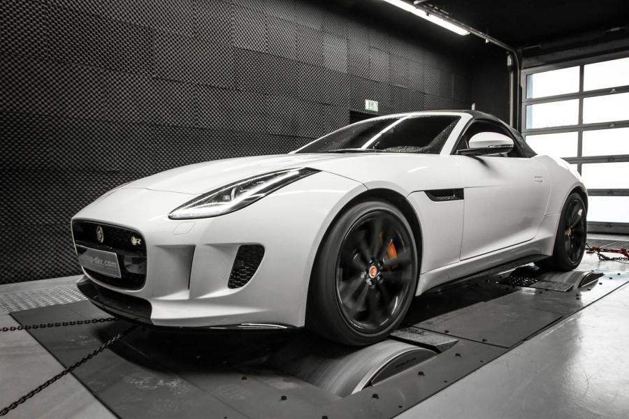 Jaguar F-Type SRV Convertible by Mcchip-DKR '2016