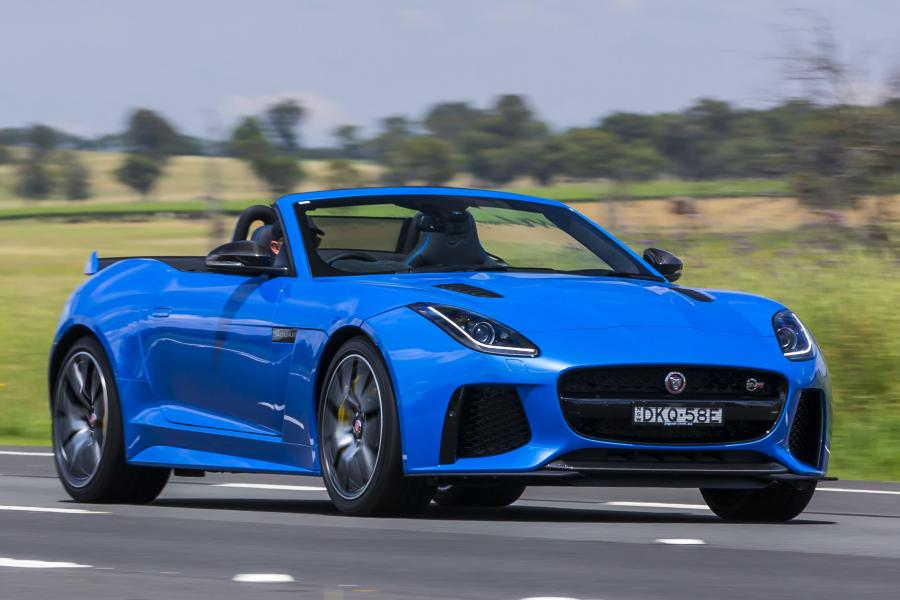 Jaguar F-Type SVR Convertible (AU) '2016