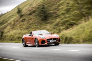 2016 Jaguar F-Type SVR Convertible