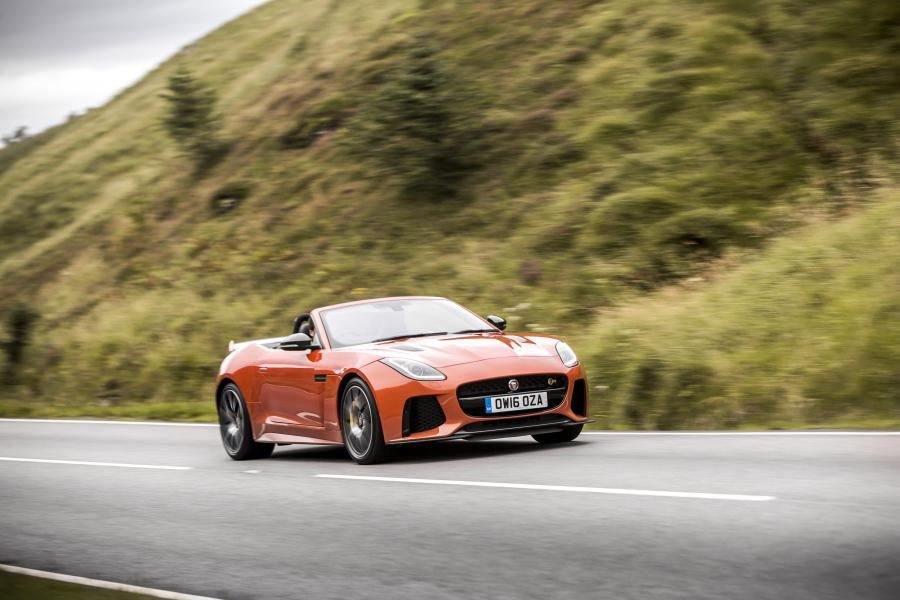 Jaguar F-Type SVR Convertible (UK) '2016