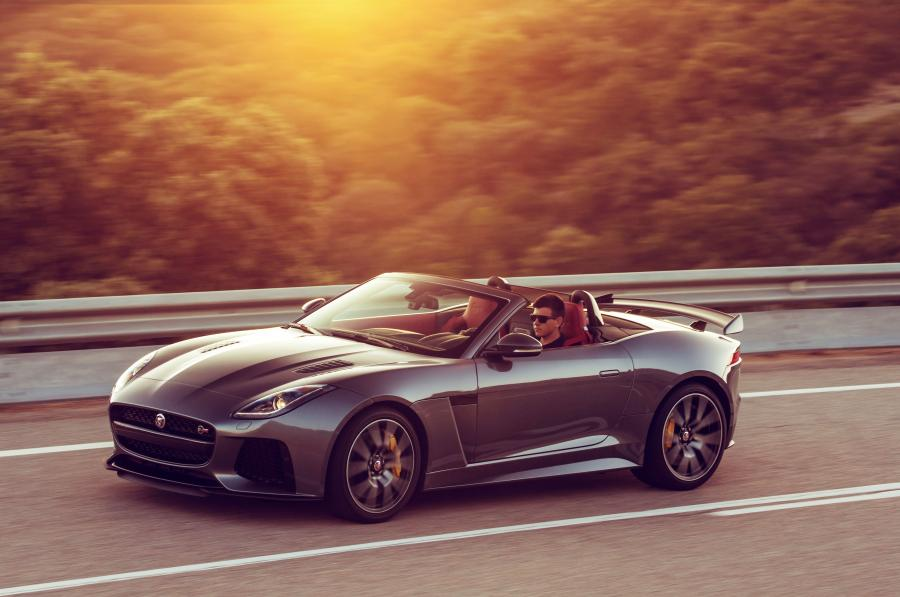 Jaguar F-Type SVR Convertible (WW) '2016