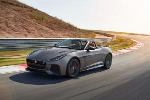 Jaguar F-Type SVR Convertible 2016 года