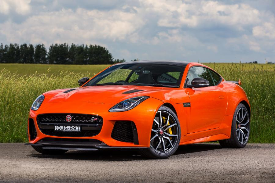Jaguar F-Type SVR Coupe (AU) '2016
