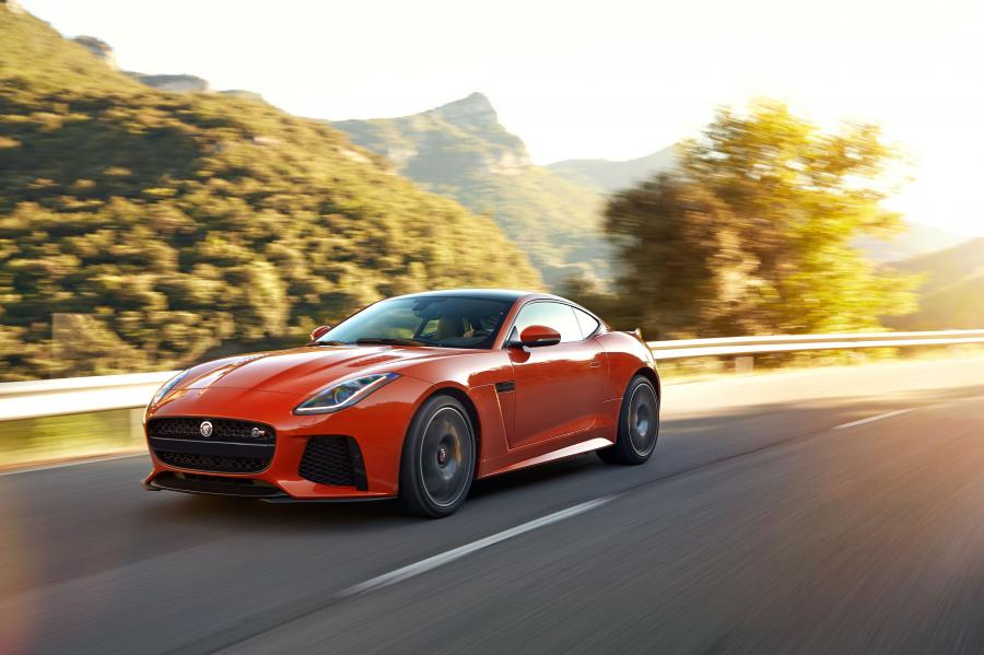Jaguar F-Type SVR Coupe '2016
