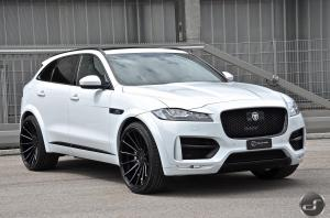 Jaguar F-Pace by Hamann and DS Automobile 2017 года