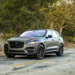 Jaguar F-Pace by VIBE Motorsports on Vorsteiner Wheels (V-FF 107) 2017 года