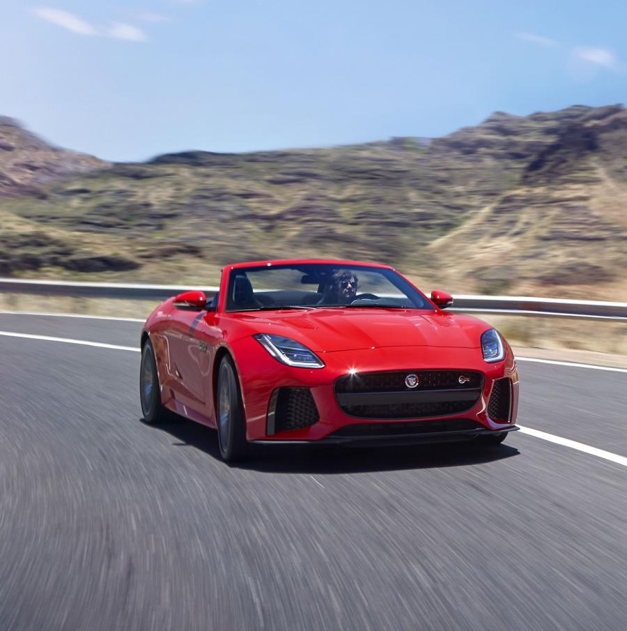 Jaguar F-Type SVR Convertible (WW) '2017