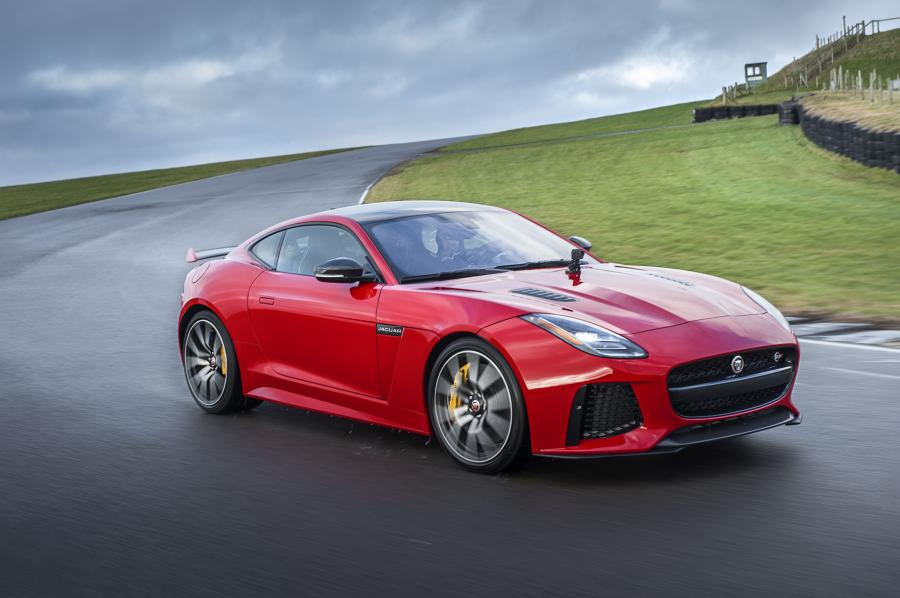 Jaguar F-Type SVR Coupe (WW) '2017
