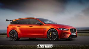 2017 Jaguar XE SC Project 8 Sportbrake by X-Tomi Design