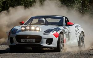 Jaguar F-Type Convertible Rally
