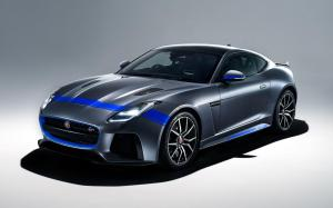 Jaguar F-Type SVR Graphic Pack Coupe 2018 года