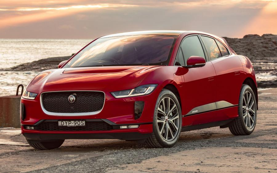 Jaguar I-Pace EV400 AWD HSE First Edition (AU) '2018