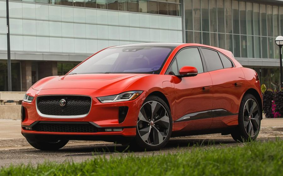 Jaguar I-Pace EV400 AWD HSE First Edition (NA) '2018