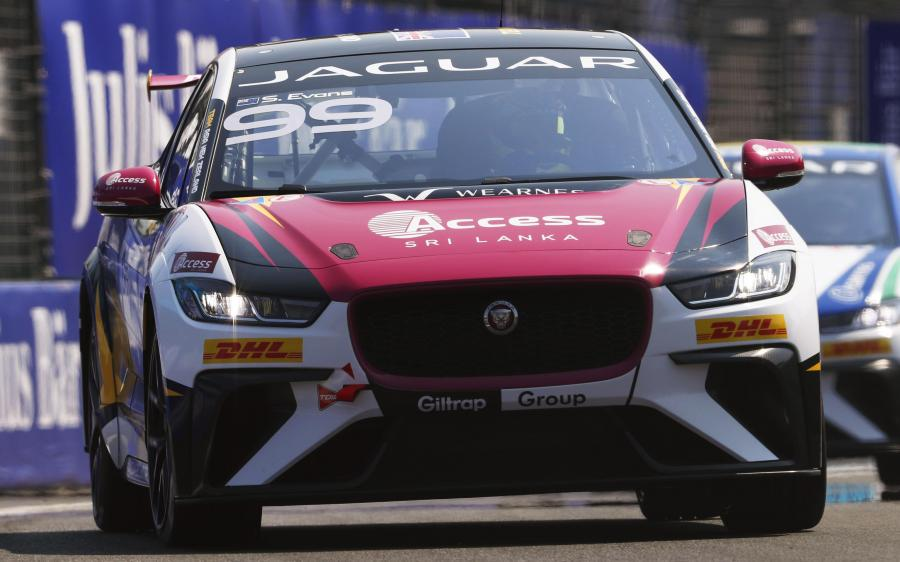 Jaguar I-Pace eTrophy Team Asia New Zealand '2018