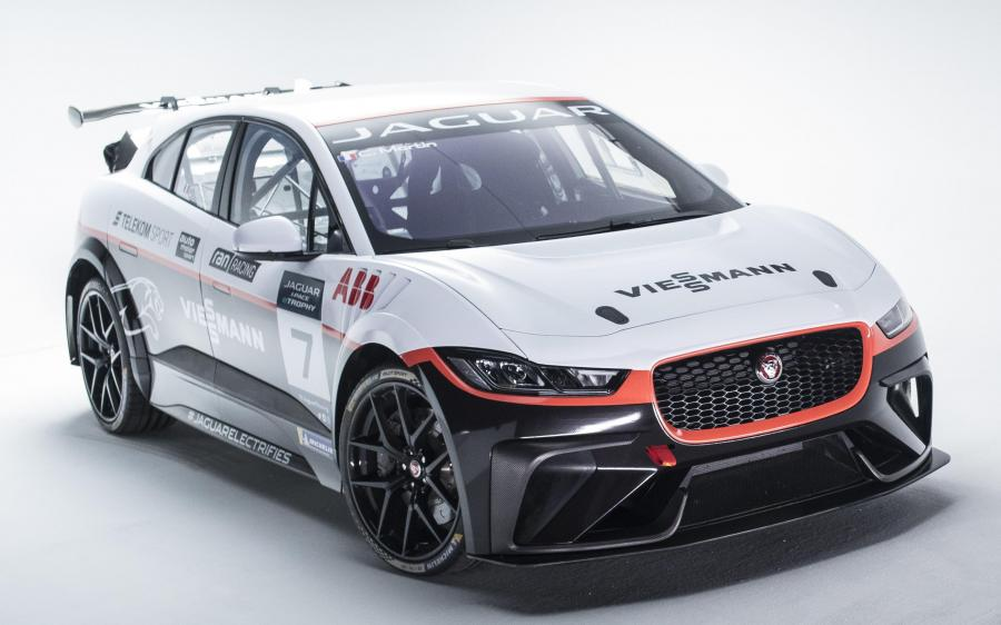 Jaguar I-Pace eTrophy Viessmann Team Germany '2018