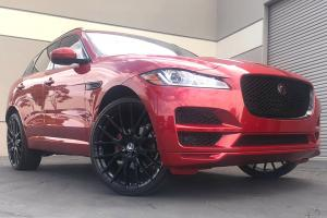 Jaguar F-Pace on Forgiato Wheels (Flow 001) 2019 года