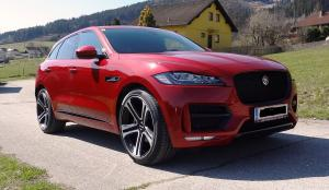 2019 Jaguar F-Pace on Premier Edition Wheels (CS5)