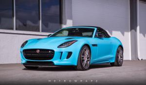 2019 Jaguar F-Type R Convertible by WetroWrapz