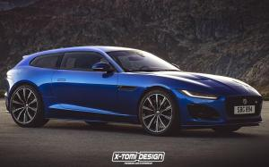 Jaguar F-Type R ShootingBrake by X-Tomi Design 2019 года