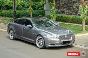 Jaguar XJ V6 by Permaisuri on Vossen Wheels (CG-209T (3-Piece)) 2019 года