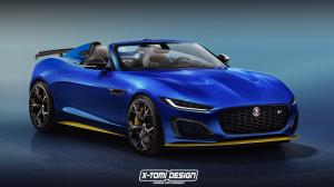 2020 Jaguar F-Type Project 7 by X-Tomi Design