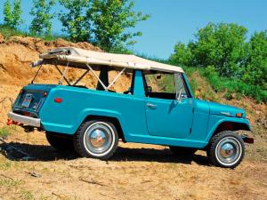 1967 Jeep Jeepster Commando Roadster