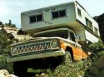 Jeep J10-J20 Red Dale Camper 1973 года