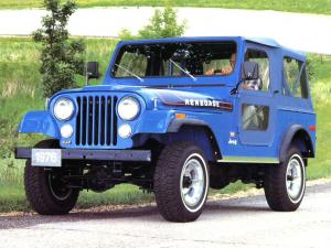 Jeep CJ-7 Renegade 1975 года