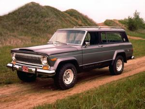 Jeep Cherokee Chief Wide Stance S Pkg. 1976 года