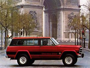 Jeep Cherokee 3-Door 1978 года