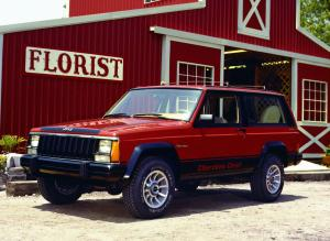 Jeep Cherokee Chief 1984 года
