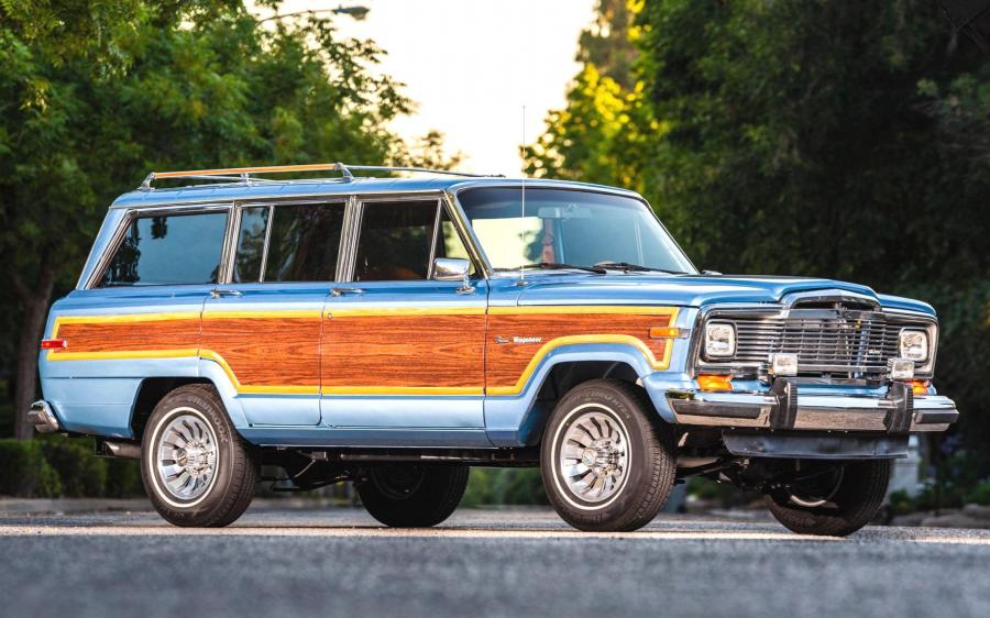 Jeep Grand Wagoneer LS1 V8 '1984