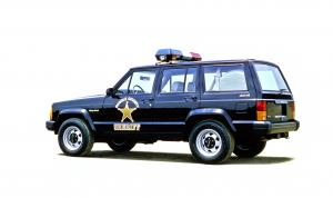 Jeep Cherokee Police Special Service Pkg 1992 года
