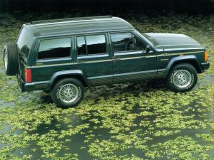 Jeep Cherokee Limited 1993 года (JP)