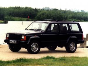 Jeep Cherokee Limited 1993 года