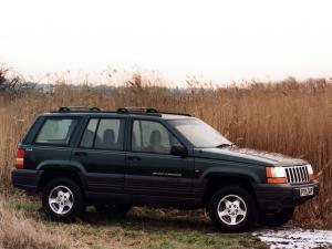 Jeep Grand Cherokee Laredo 1996 года (UK)