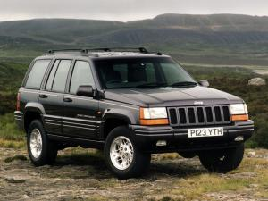 Jeep Grand Cherokee Limited 1996 года (UK)