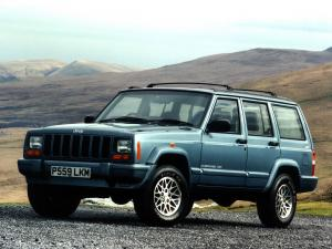 Jeep Cherokee Limited 1998 года (UK)