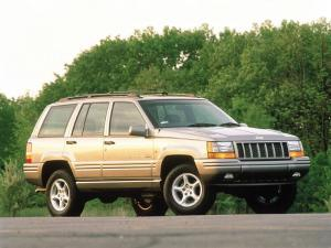 Jeep Grand Cherokee 5.9 Limited 1998 года (UK)