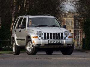 Jeep Cherokee Limited 2005 года (UK)